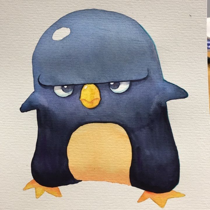 Mr Penguin - character design