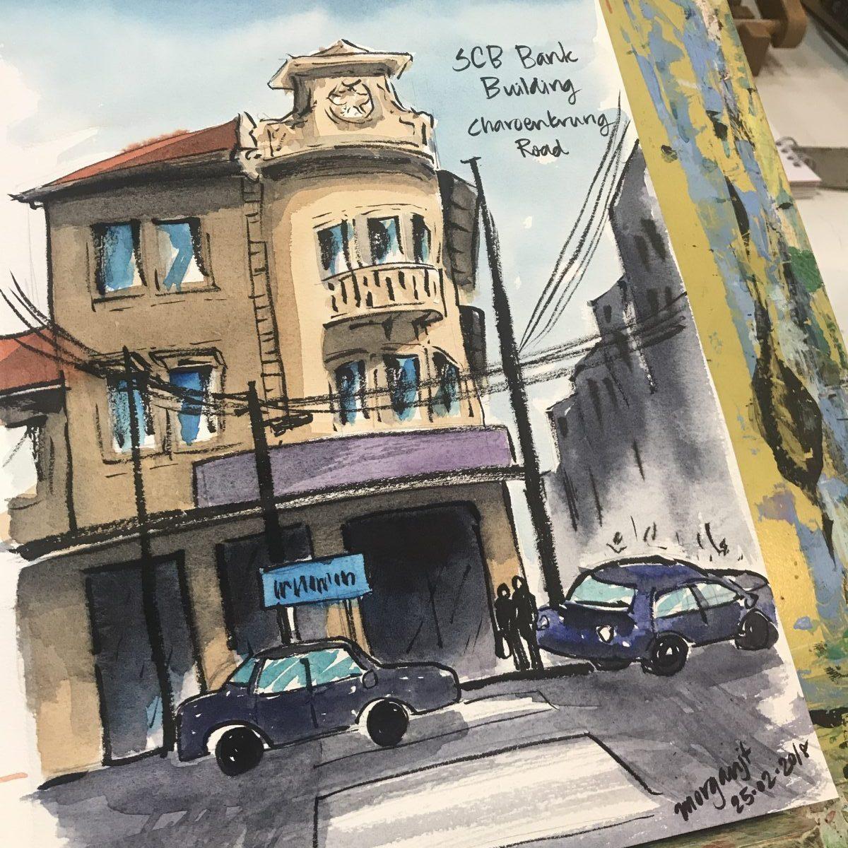SCB bank Charoenkrung Road