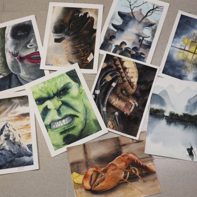 watercolor by morgan paintings