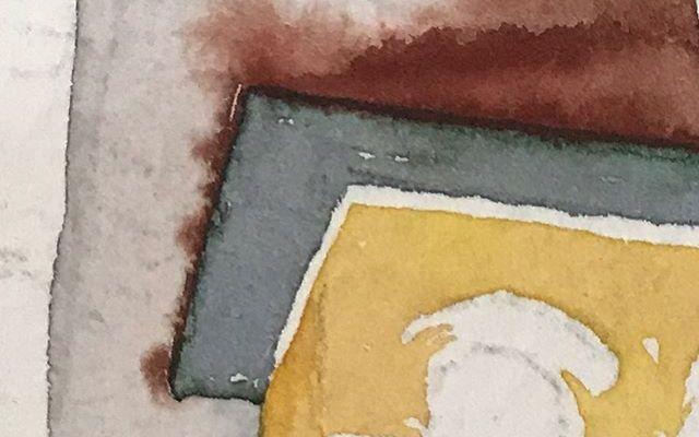 Work in progress painting